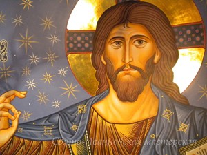 Господь Вседержитель. Роспись в храме