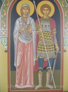 роспись в храме Лавры