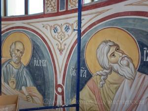 роспись в храме при обл. больнице