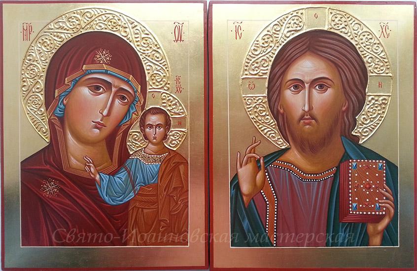 Роспись иконы 153