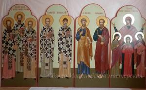 Избранные святые. Иконостас